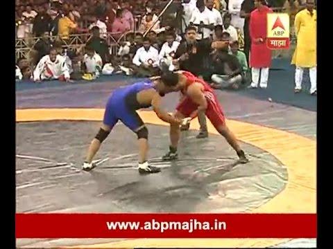 Pune : Vijay Chaudhary 3rd time Won Maharashtra Kesari Kusti Competition