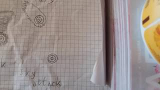 How to draw Beyblade with shabloon