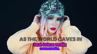 As the world caves in-Sarah Cothran/Amanda Flores (Cover español latino) #TiktokSongs