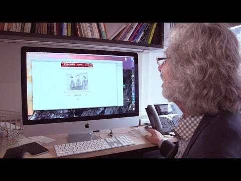 Bob Mankoff shows off The New Yorker's new crowdsourcing tool (CNET News)