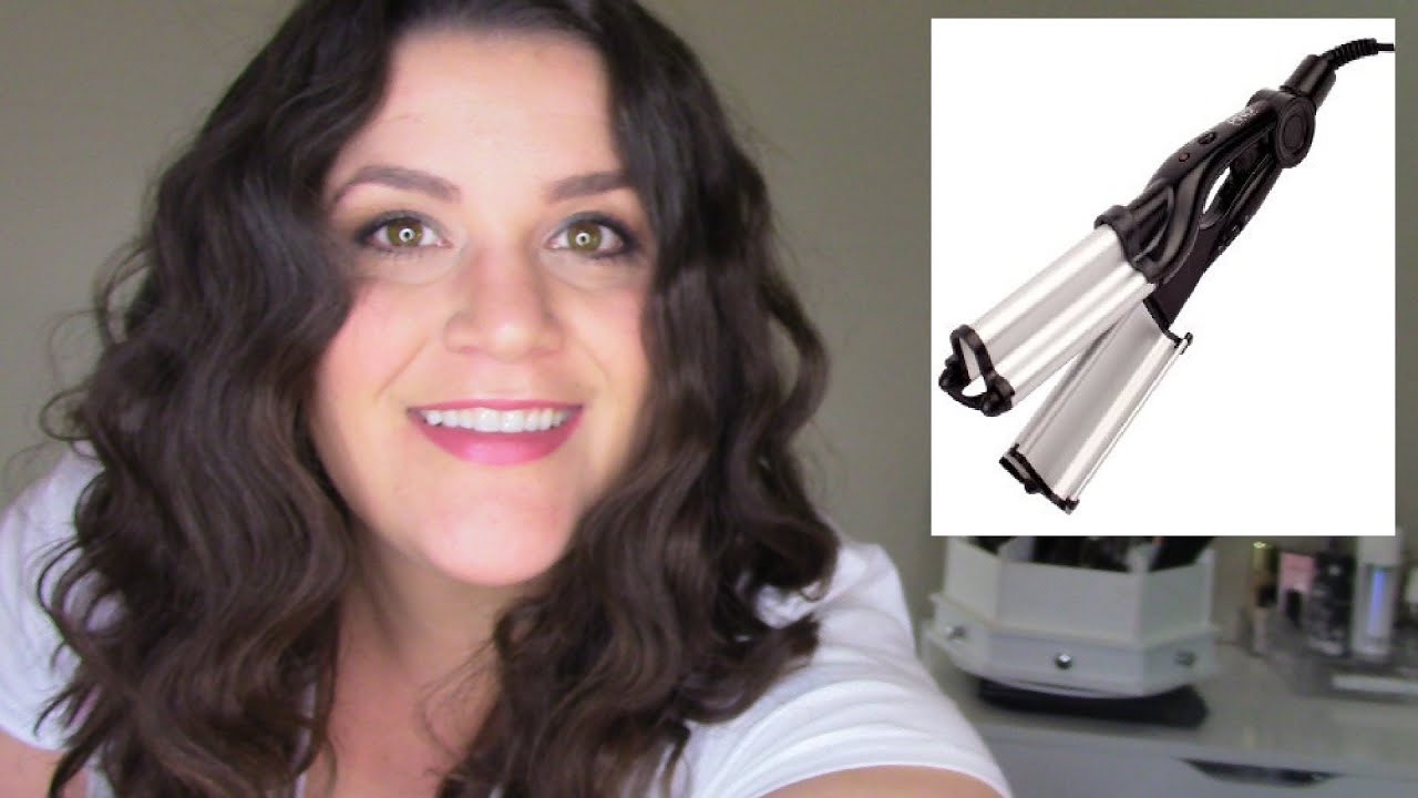 waver for hair styling pro speed waver review amp demo for wavy hair 8039