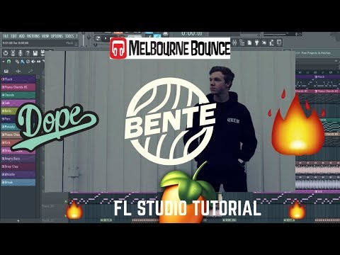 HOW TO: Melbourne Bounce like B3NTE (FL STUDIO TUTORIAL)