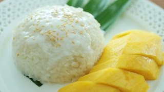 Mango Sticky Rice - 芒果糯米饭