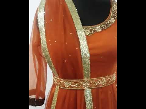 Party Wear Designer Anarkali (For Order Contact at +91 9888799315)
