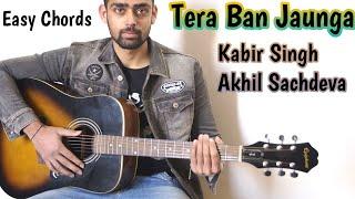 tera-ban-jaunga-song-guitar-chords-lesson-kabir-singh-akhil-sac-eva-supereasy-chords