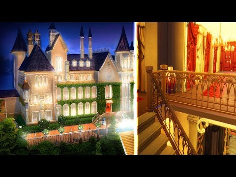 THE SIMS 4 GREAT GATSBY MANSION | INTERIOR
