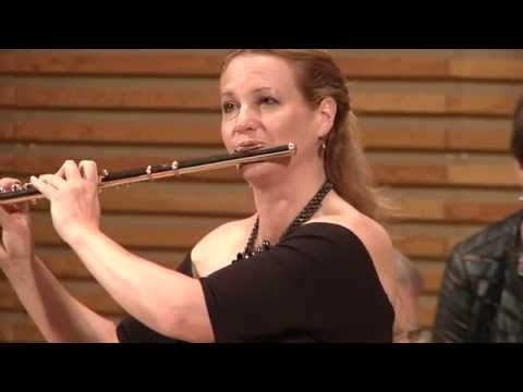 Amy Porter and Tim Carey play Dorff Sonata (Three Lakes) for Flute and Piano by Dorff