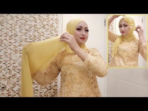 3 Style Tutorial Hijab Pesta Resmi Kondangan Mewah dan Elegan  Video ini berisi tutorial hijab untuk acara resmi seperti ....