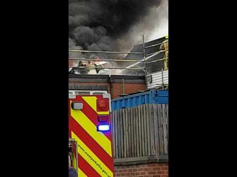 Castleford school fire