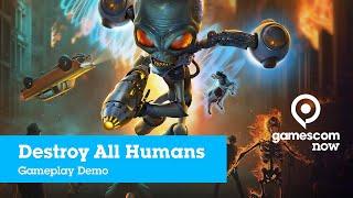 #gamescom2019 - Destroy All Humans - Gameplay Demo | IGN @ gamescom now