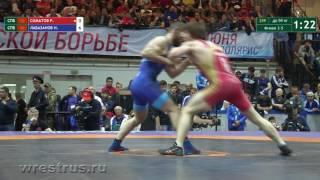 ЧР-2017. Гр.б. 59 кг. Родион Соматов - Ибрагим Лабазанов. За бронзу.