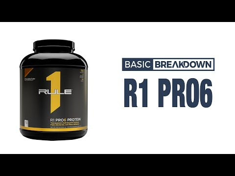 Rule 1 R1 Pro6 Protein Blend Supplement Review | Basic Breakdown
