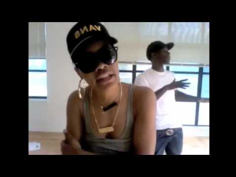 Chris Brown and Teyana Taylor Freestyle