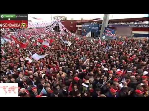 CHP Mersin Mitingi : Ar Damarı Çıkmış Olmuş Kar Damarı :) 09.03.2014
