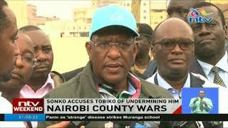 Governor Sonko and CS Tobiko clash over protocol