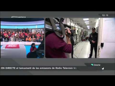 Ultima emision de Canal 9 RTVV 29-11-2013