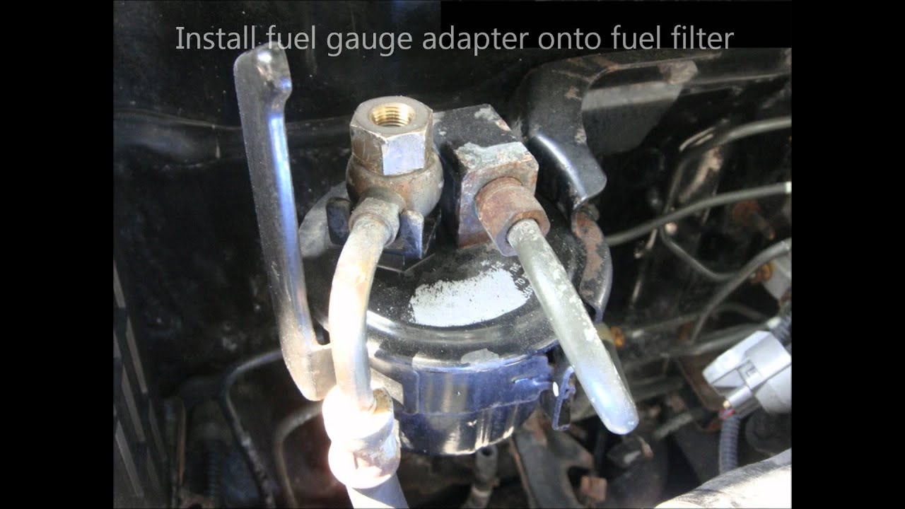 how to install 92 95 civic eg fuel pressure guage [ 1280 x 720 Pixel ]