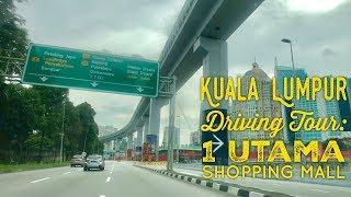 Kuala Lumpur Driving Tour: KL City Center to 1 Utama Shopping Mall Petaling Jaya