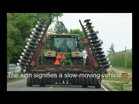 Oregon Farm Bureau Rural Road Safety Video