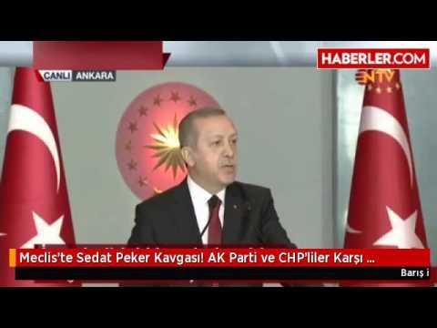 Meclis'te Sedat Peker Kavgası! AK Parti ve CHP'liler Karşı Karşıya Geldi
