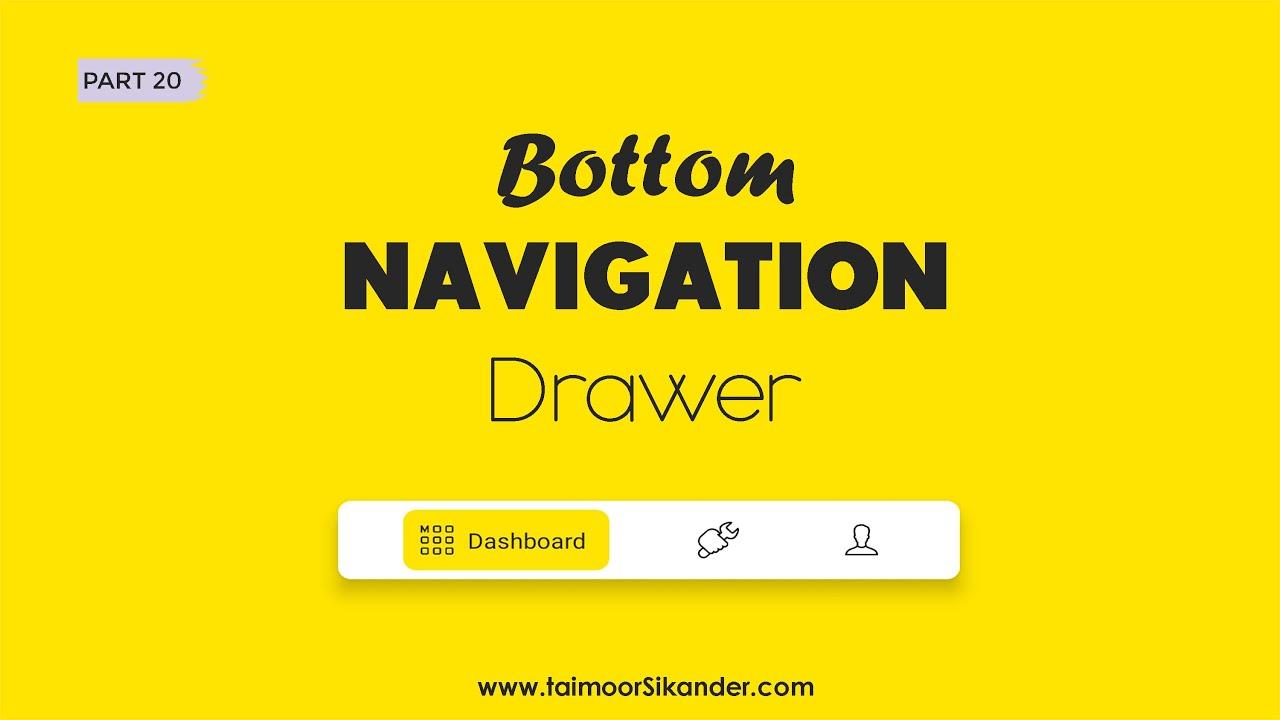 Bottom Navigation Bar Android - Bottom Navigation bar Android Studio - Bottom Navigation Android