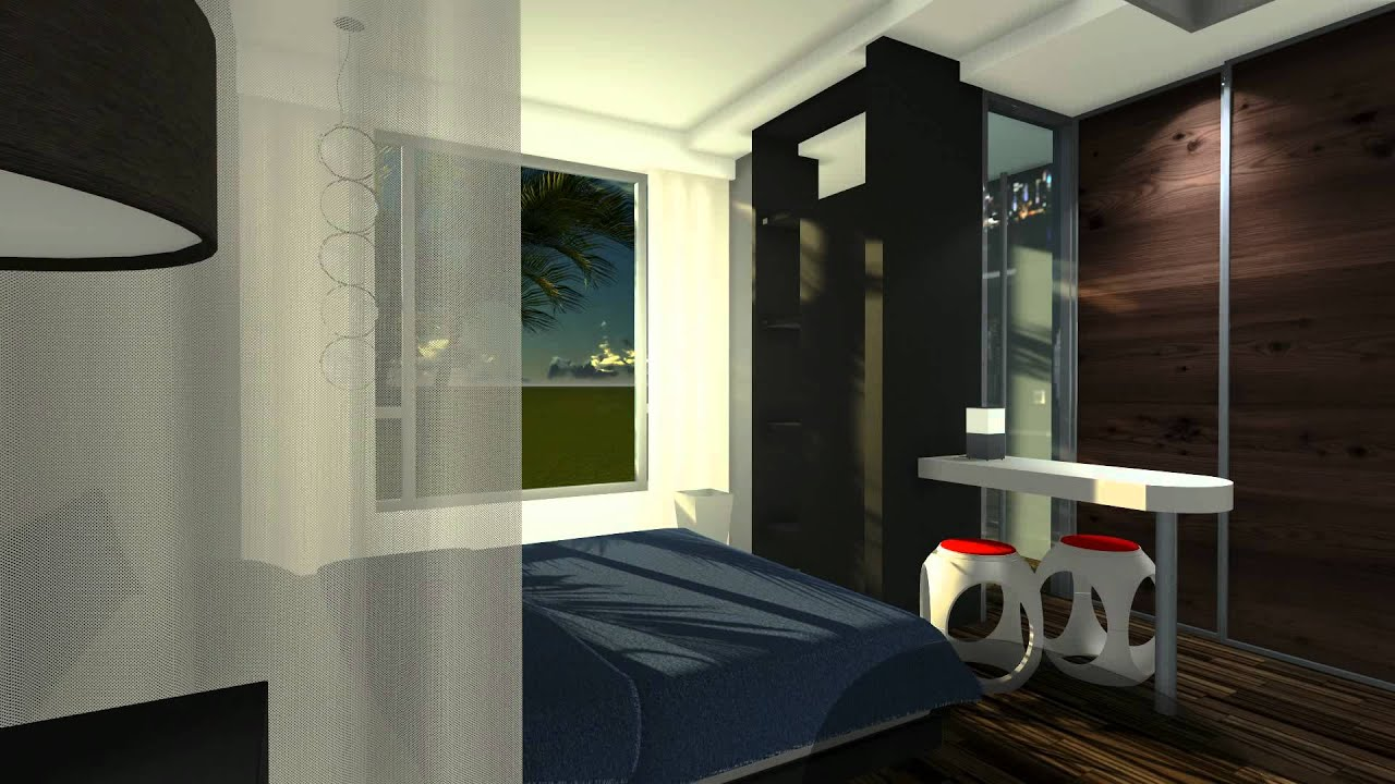 Interior Test Rendering in LUMION - YouTube