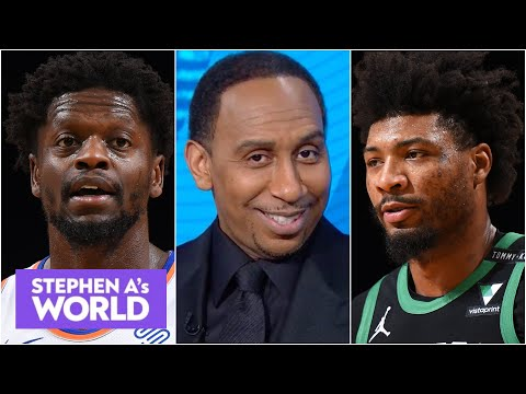 Stephen A. loses it over the Knicks blowing out the Celtics by 30 POINTS! | Stephen A's World