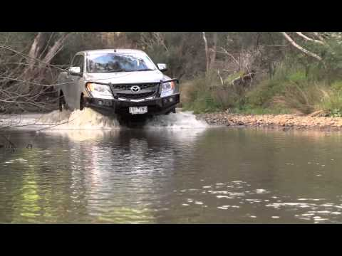 Mazda BT-50 Ute – How to Drive Over Water Crossings
