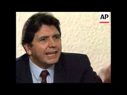 COLOMBIA: ALAN GARCIA.  ALLEGATION OF ELECTION FRAUD IN PERU