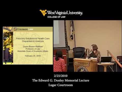 The Edward G. Donley Memorial Lecture - 2/25/2010