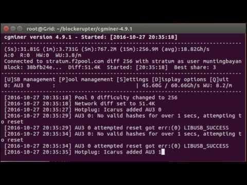 Bitcoin Miner Block Erupter Ubuntu Tutorial