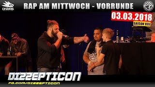 RAP AM MITTWOCH STUTTGART: 03.03.18 Vorrunde feat. DIZZEPTICON, SKILLA199, GUSY uvm. (2/4)