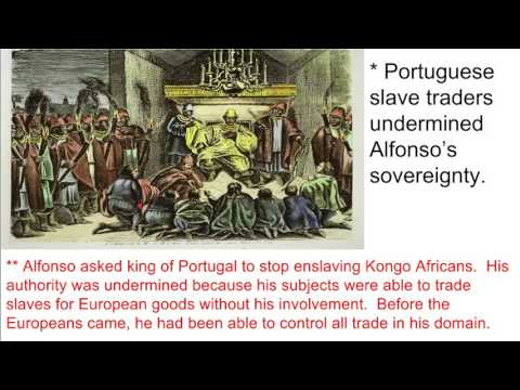 WHAP Ch 17 lecture pt 1 -  Songhay, Kongo, Transatlantic Slavery, African American Culture