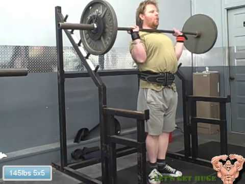 5x5 Workout Military Press Close Grip Bench Press Pull Ups