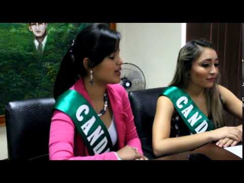 Candidatas a Reina de ULEAM Ext. Chone visitaron Alcaldía