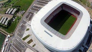 Sivas Yeni 4 Eylül Arena Stadyumu 900 Karede İnşaatın Hızlandırılmış Hali