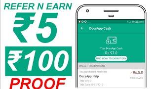 Docsapp proof | New app to earn free paytm cash