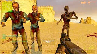 Counter Strike Source - Zombie Horde Mod Online Gameplay on Kabul map