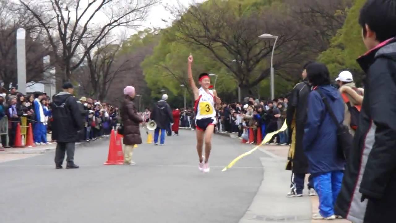 2010年 第60回大阪市中學校駅伝競走大會 - YouTube