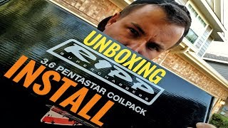 RIPP High Performance Pentastar Coil pack Unboxing and Install
