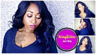 Sensationnel Natural Curved Part Lace Wig JASI! ♡|  Epic (step by step) Beginner Friendly Tutorial