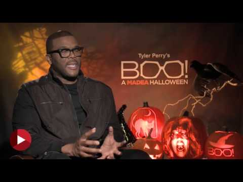 BOO! A Madea Halloween -  Tyler Perry Chipchat Interview