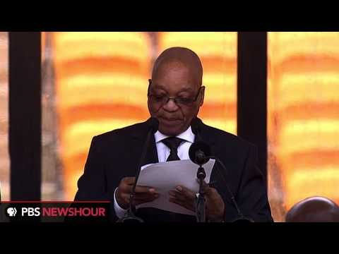 Jacob Zuma delivers remarks on Nelson Mandela's vision for South Africa