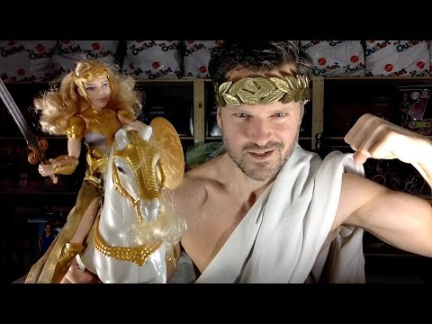 DC Wonder Woman Queen Hippolyta & Horse Mattel Doll Unboxing Review