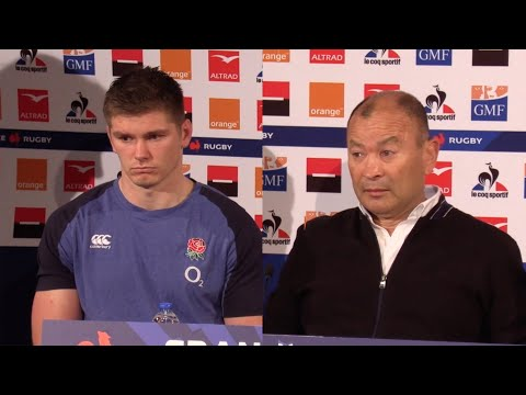 Owen Farrell and Eddie Jones despondent after Six Nations loss to France