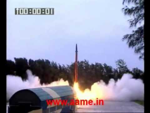 Agni-2 Ballistic Missile launch by India's Strategic Forces Command [SFC] - 2012.08.09