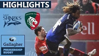 Sale v Leicester - HIGHLIGHTS …