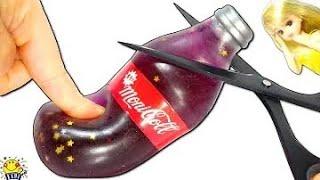 リカちゃんの料理【コーラのスクイーズ切る★】中身はスライムジュース⁉︎おもちゃのキッチンで手作り♪ squishy slime Cola たまご Mammy thumbnail