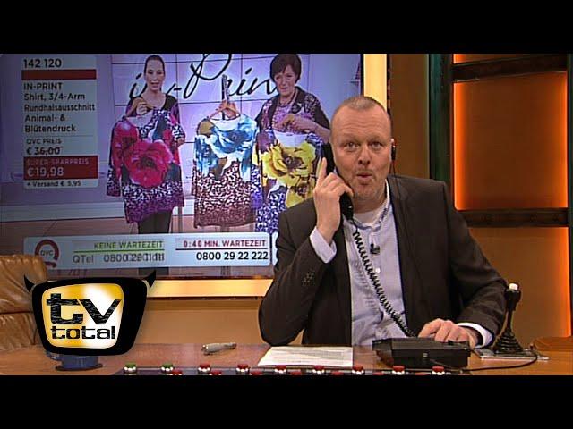 Stefan bestellt beim Teleshopping - TV total