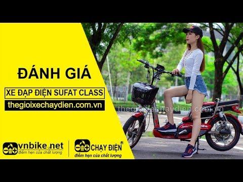 Đánh giá xe đạp điện Sufat Class